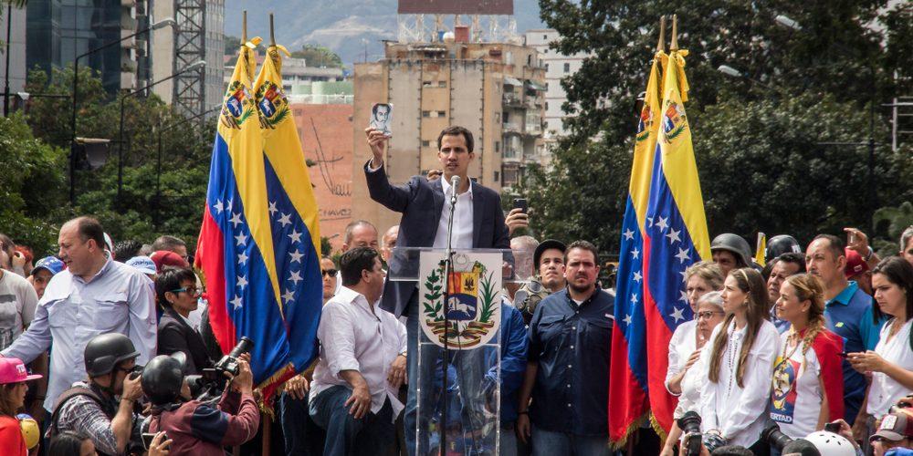 Juan Guaidó, Fot. Ruben Alfonzo / Shutterstock.com