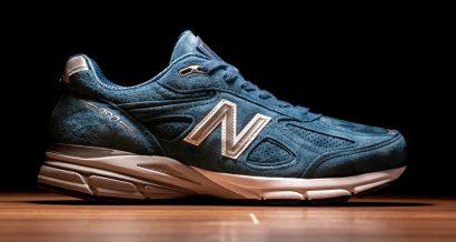 Oryginalne obuwie sportowe New Balance serii 990. Fot. Anatoly Vartanov / Shutterstock.com