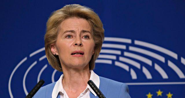 Ursula von der Leyen, Fot. Alexandros Michailidis / Shutterstock.com