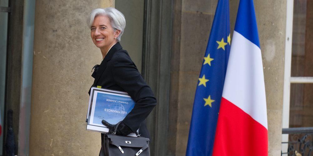 Christine Lagarde. Fot. Frederic Legrand - COMEO / Shutterstock.com