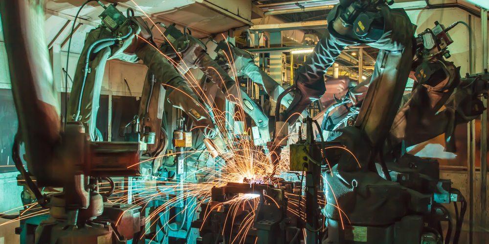 Robot spawalniczy, Fot. Shutterstock.com