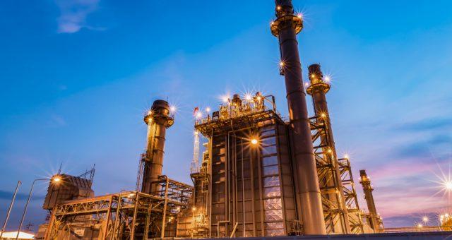 Elektrownia gazowa, Fot. Shutterstock.com