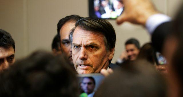 Prezydent Brazylii Jair Bolsonaro. Fot. Antonio Scorza / Shutterstock.com