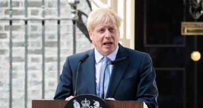 Boris Johnson. Fot. Michael Tubi / Shutterstock.com