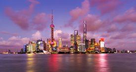 Biznesowa dzielnica Pudong. Szanghaj, Chiny. Fot. Shutterstock
