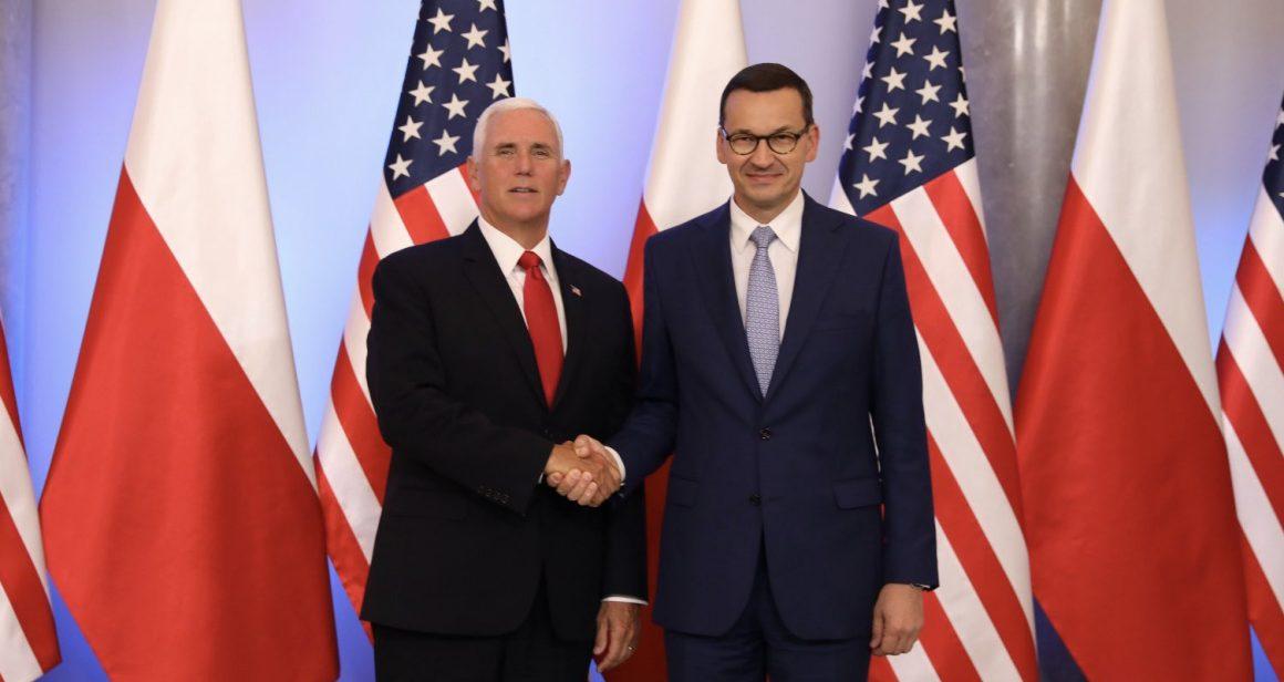 Mike Pence I Mateusz Morawiecki / KPRM