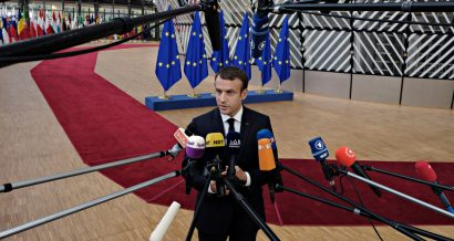 Emmanuel Macron, prezydent Francji. Fot. Alexandros Michailidis / Shutterstock.com