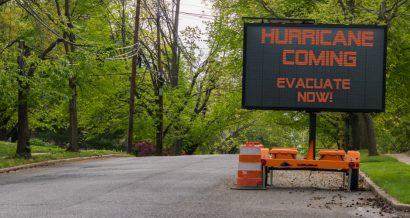 Ostrzeżenie przed huraganem, Fot. Shutterstock.com