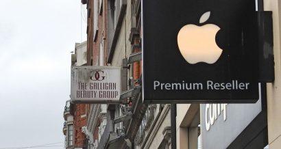 Sklep Apple w Dublinie, Fot. Derick Hudson / Shutterstock.com
