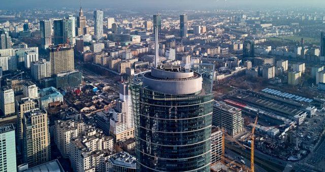 Warsaw Spire, siedziba warszawskiego oddziału Goldman Sachs w Warszawie. Fot. udmurd / Shutterstock.com
