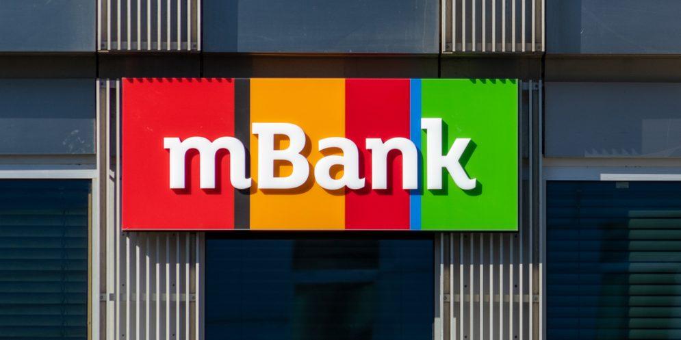 Logo mBank. Fot. Lukasz Wrobel / Shutterstock.com