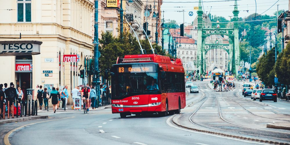 Trolejbus Solarisa, Fot. trammy / Shutterstock.com