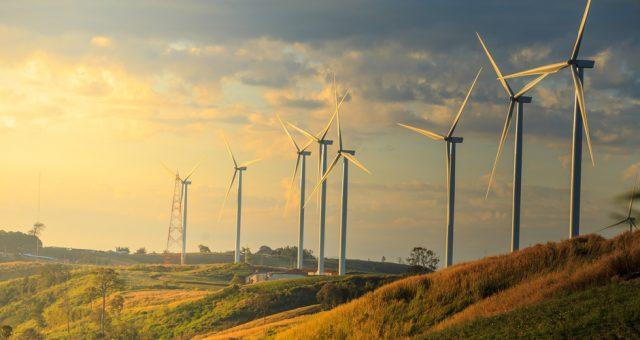 Turbiny wiatrowe, Fot. Shutterstock.com