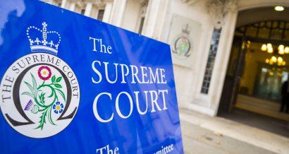 Sąd Najwyższy Zjednoczonego Królestwa, Fot. lazyllama / Shutterstock.com