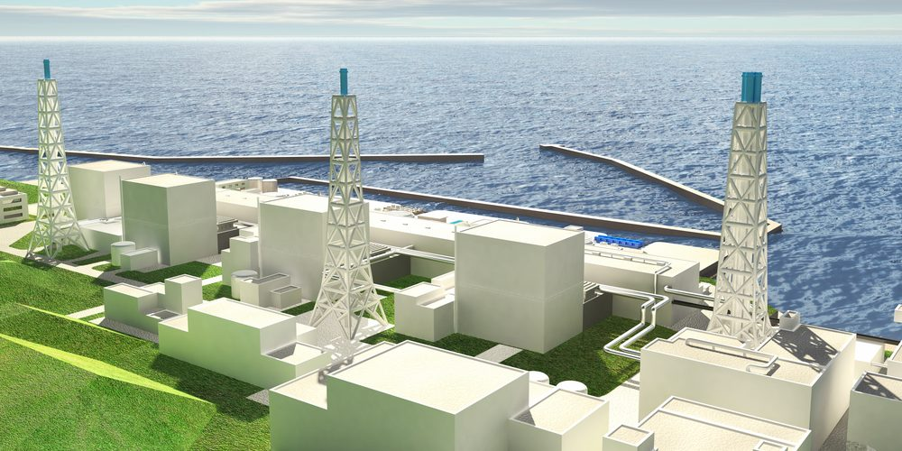 Model elektrowni w Fukushimie, Fot. Shutterstock.com