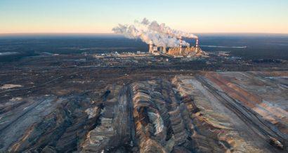 Elektrownia Bełchatów i kopalnia węgla brunatnego. Fot. Shutterstock