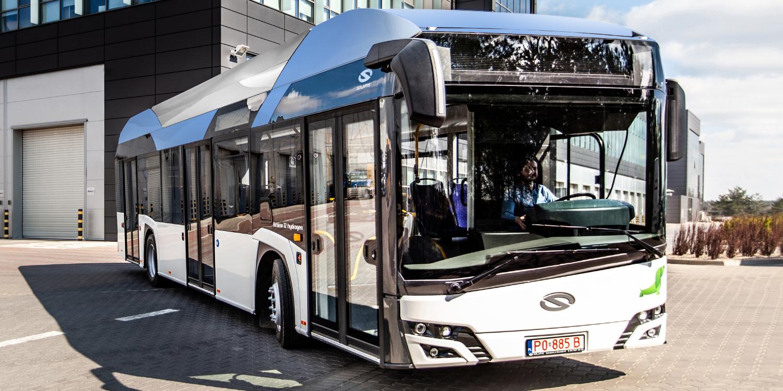 Solaris Urbino 12 Hydrogen. Fot. Solaris