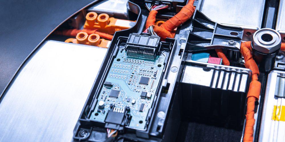 Bateria w samochodzie elektrycznym, Fot. Shutterstock.com