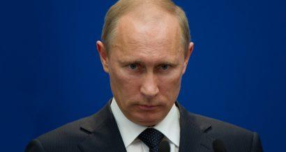 Prezydent Rosji Władimir Putin. Fot. Frederic Legrand - COMEO / Shutterstock.com