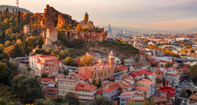 Widok na Tbilisi, Fot. Shutterstock.com