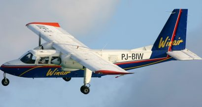 Samolot Britten-Norman. Fot. Dale Coleman, GFDL 1.2