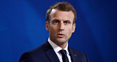 Emmanuel Macron, Fot. Alexandros Michailidis / Shutterstock.com