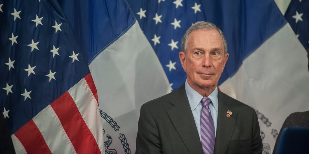 Michael Bloomberg w 2013 roku. Fot. rblfmr / Shutterstock.com