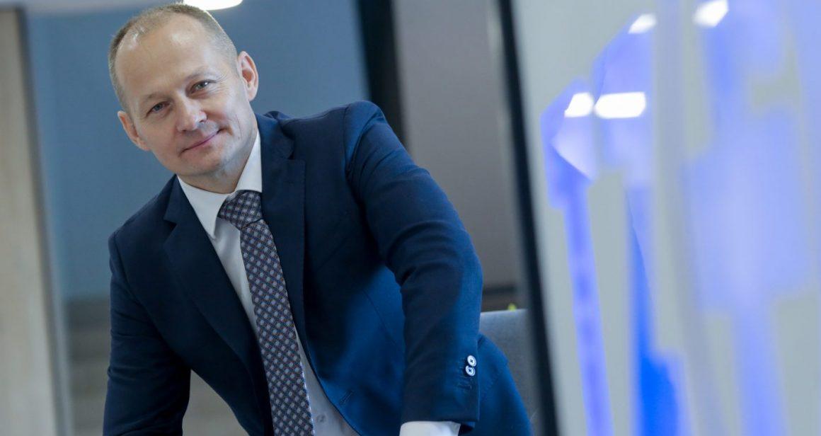 Jarosław Król, prezes Polfy Tarchomin. Fot. Marek Wiśniewski