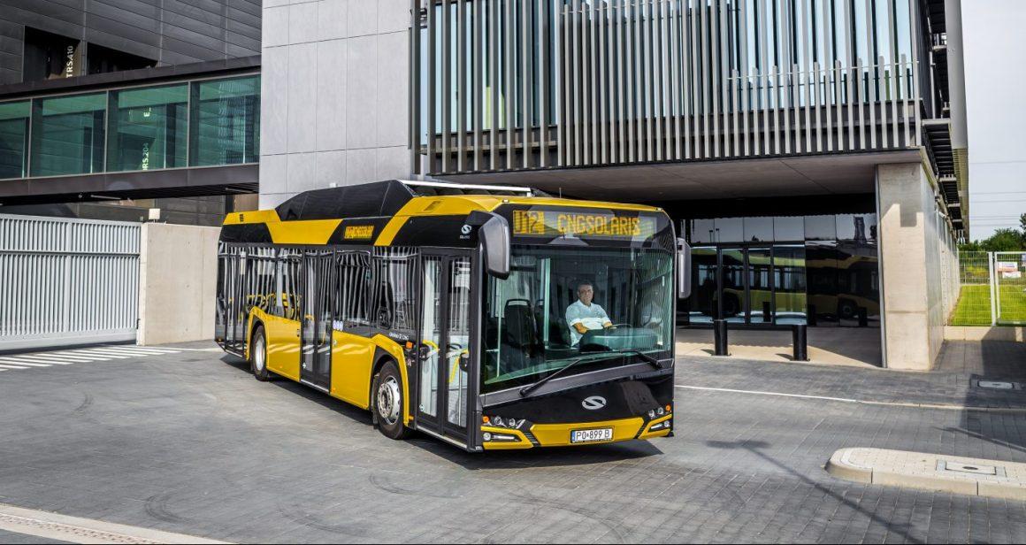Solaris Urbino 12 CNG. Fot. Solaris