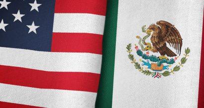 Flagi USA i Meksyku. Fot. Shutterstock.com