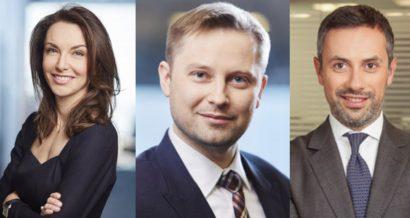 Pietkiewicz, Kolesnik, Stanculescu, Fot. mat. prasowe
