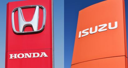 Fot. Honda i Isuzu, Shutterstock.com / nitpicker / ricochet64
