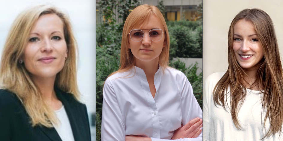 Monika Kania, Karolina Kornet, Katarzyna Dyrcz Fot. materiały prasowe