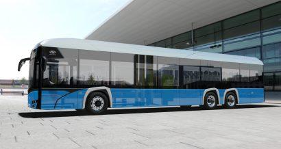 Solaris Urbino 15 Electric - wizualizacja