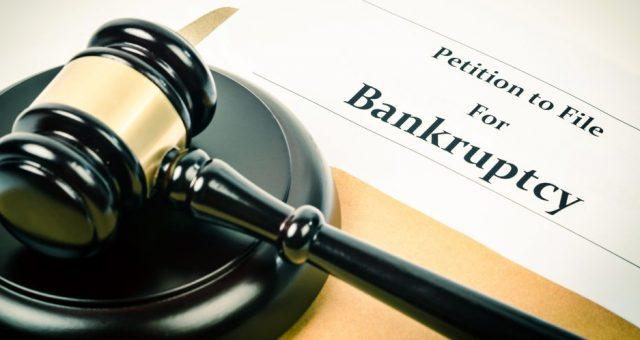 Bankructwo, upadłość. Fot. Shutterstock