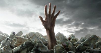 zanieczyszczenie plastikiem, fot. Shutterstock.