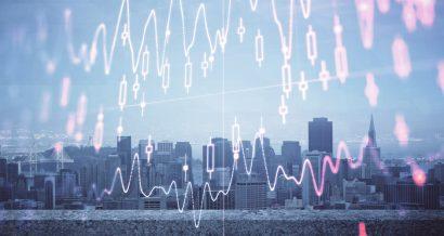 Światowa gospodarka, wykres. Fot. Shutterstock