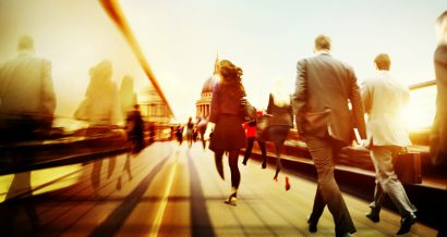W drodze do pracy. Fot. Shutterstock