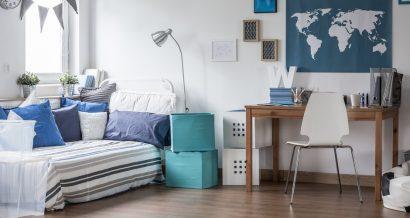 Małe mieszkanie studenckie. Fot. Shutterstock
