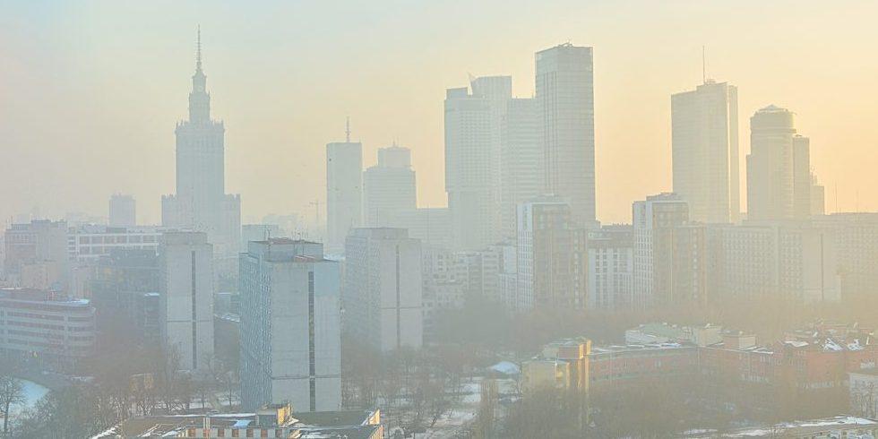 Smog w Warszawie, Fot. Shutterstock.com