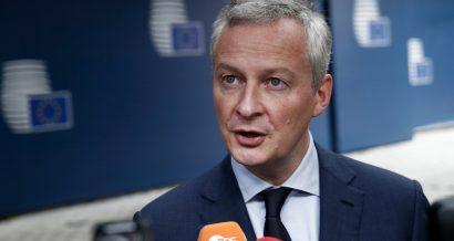 Bruno le Maire, minister gospodarki Francji. Fot. Alexandros Michailidis / Shutterstock.com