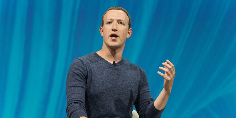 Mark Zuckerberg. Fot. Frederic Legrand - COMEO / Shutterstock.com