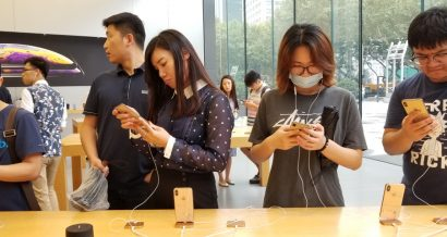 Apple w Chinach, Fot. CookieWei / Shutterstock.com