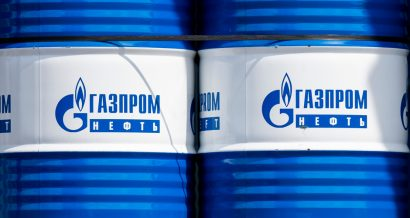 Gazprom. Fot. Karolis Kavolelis / Shutterstock.com