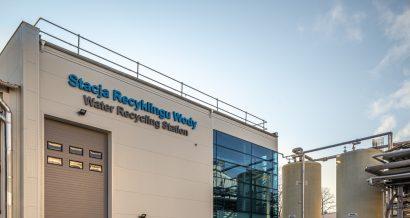 Stacja recyklingu wody, LOreal, Kanie
