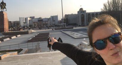 Maryjka Szurowska w Biszkek
