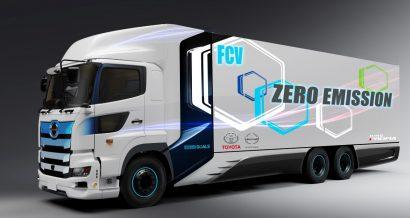 ciężarówka niskoemisyjna, fot. materiały prasowe Toyota Motor Poland
