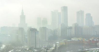 Smog w Warszawie. Fot. Shutterstock