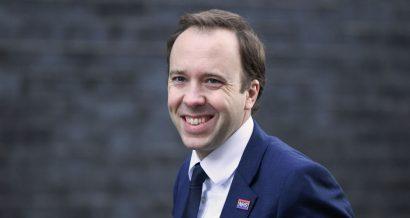 Matt Hancock, minister zdrowia Wielkiej Brytanii. Fot. Bart Lenoir / Shutterstock.com
