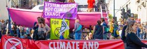 Zmiany klimatu - protesty w Londynie, fot. John Gomez / Shutterstock